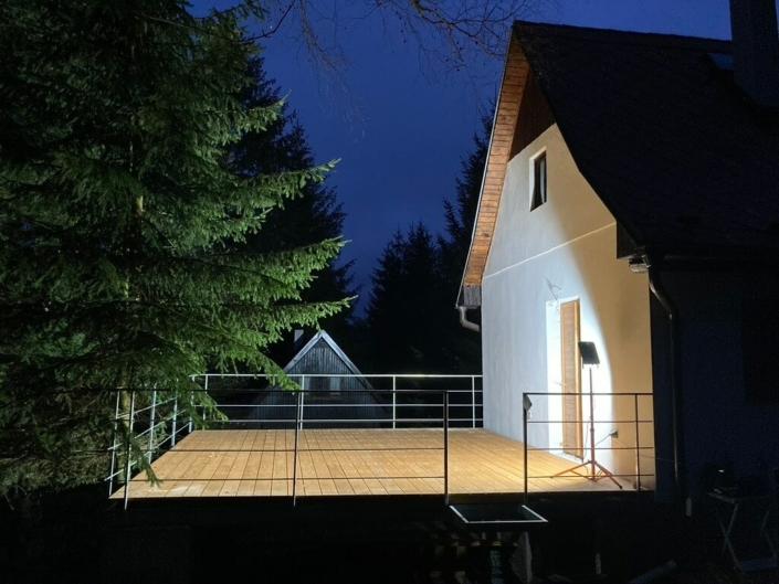 Vyvýšená terasa