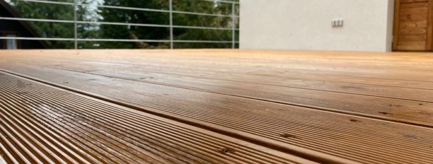 Vhodné dřeviny pro Terasu na klíč