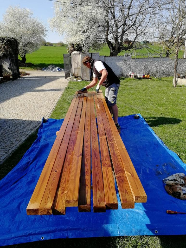 1. Nachystáme dřevo